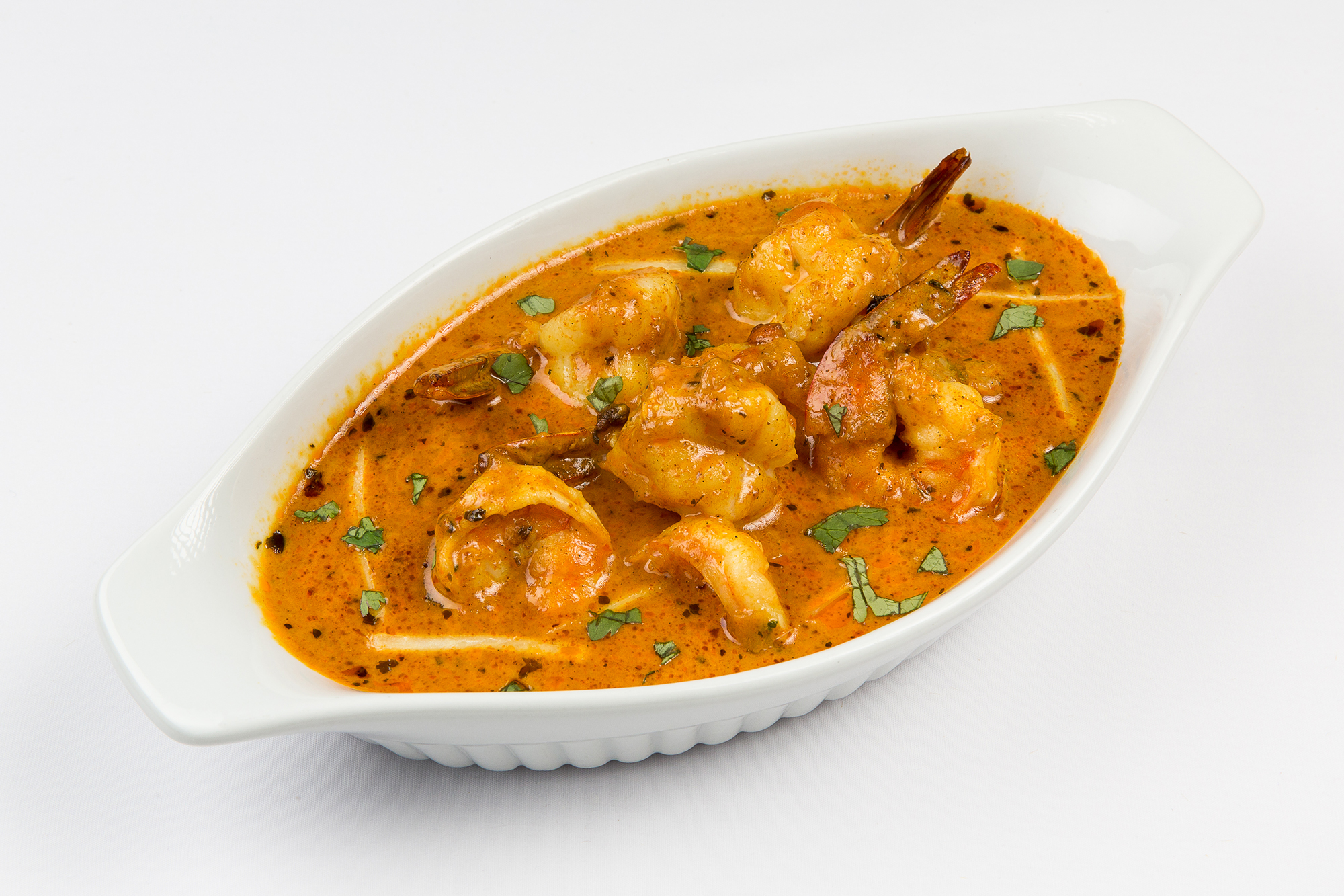 Curried Shrimp - Ceylonta