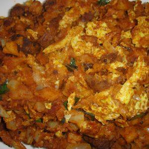 chicken kothu